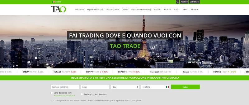 taotrade broker