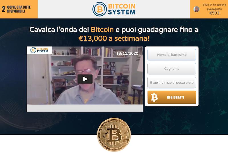 bitcoin system italiano recensioni